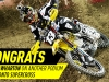Toronto Supercross - Blake Wharton finishes in 3rd place