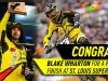 Blake Wharton finishes 3rd at St. Louis Supercross