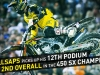 Davi Millsaps podiums for the 12th time in Las Vegas