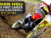 Brian Hsu Collects his First EMX-125 WIn in France!
