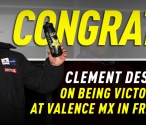 Desalle Wins at Valence MX