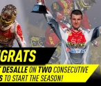 Clement Desalle podiums in Thailand
