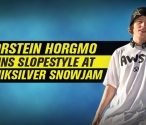 Torstein Horgmo Wins Slopestyle at Quiksilver Snowjam