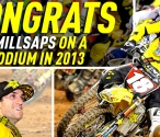 Davi Millsaps Podum - Atlanta Supercross