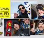 Rockstar Athletes medal at X Games Tignes!