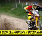 Clement Desalle podiums in Bulgaria!
