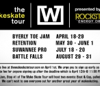 The Wakeskate Tour 2013