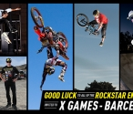 Good luck at X Games - Barcelona!