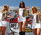 Rockstar girls showing off the prizes!