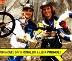 David Rinaldo & Libor Podmol top European FMX Championship Podium!