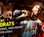 Congrats to Libor Podmol, Mike Mason & Javier Villegas