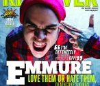 Emmure's Frankie Palmeri graces the cover of the April-May Revolver Magazine