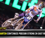 Jeremy Martin on the Podium in New Jersey