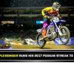 Plessinger Collects 3rd Podium in a Row