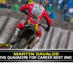 Two 450 Podiums in a Row for Martin Davalos