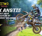 Max Anstie on the Podium in France