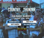 Country Thunder : Alberta | August 17-19