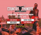Country Thunder: Saskatchewan | July 12-15
