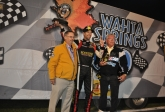 HATHAWAY MAKES IT TWO IN A ROW AT BARRIE SPEEDWAY
