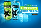 Two Amazing New Flavors From Rockstar - Lime Freeze and Pina Colada!