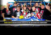 Jeremy Martin Secures Second Consecutive Pro Motocross 250 Championship