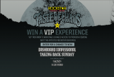 Enter To Win: Taste Of Chaos VIP Experience