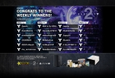 Congrats to the Destiny 2 Weekly Winners