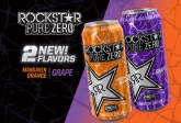 NEW! Pure Zero Grape and Mandarin Orange