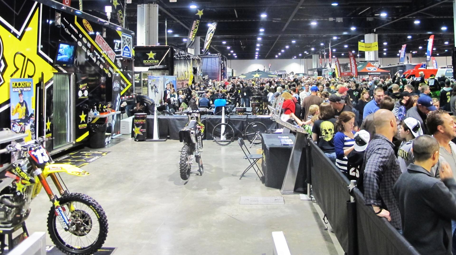 Rockstar Energy Racing Pits