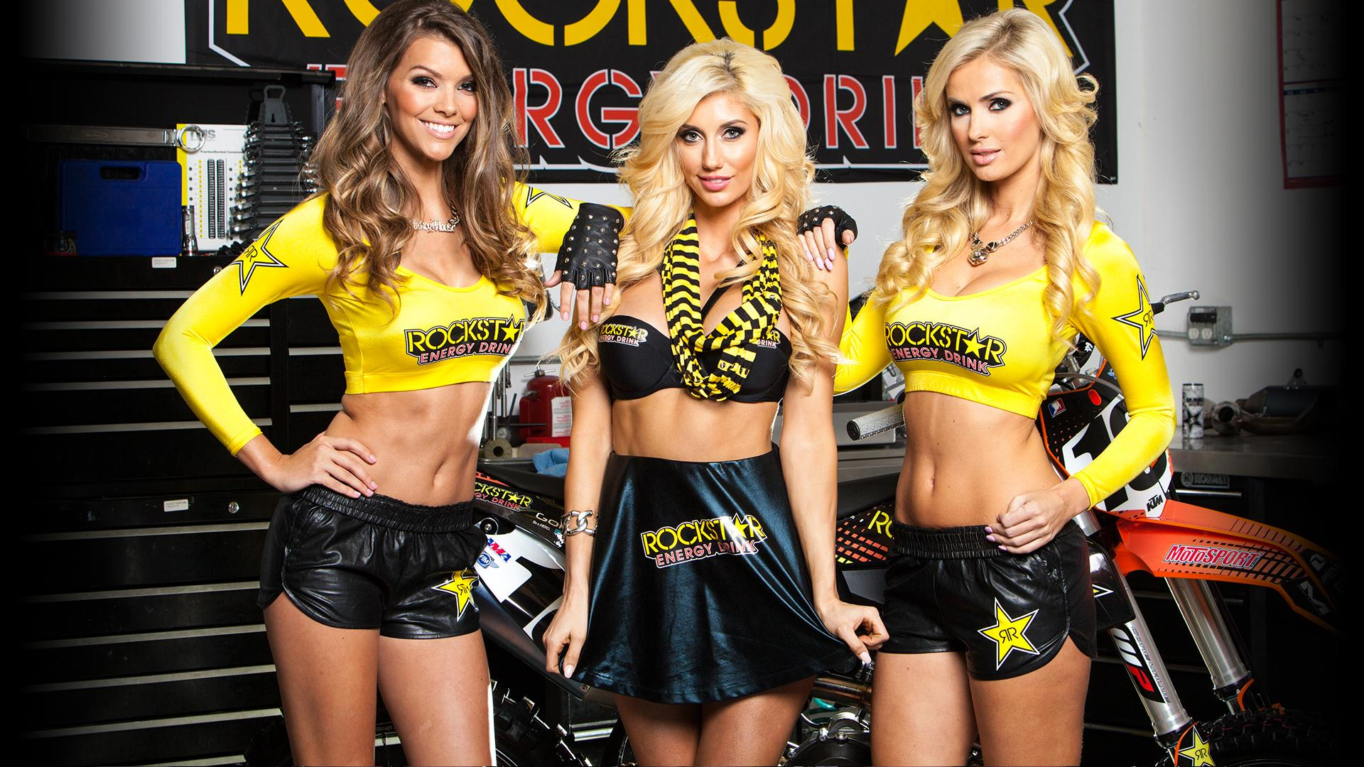Supercross girls energy rockstar