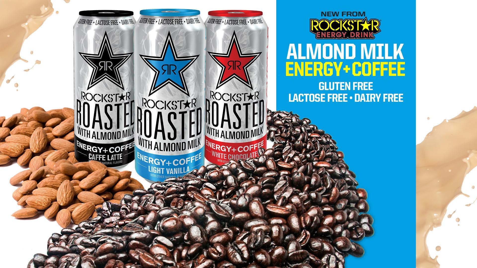 Rockstar Roasted With Almond Milk Light Vanilla Tims Energy Blog