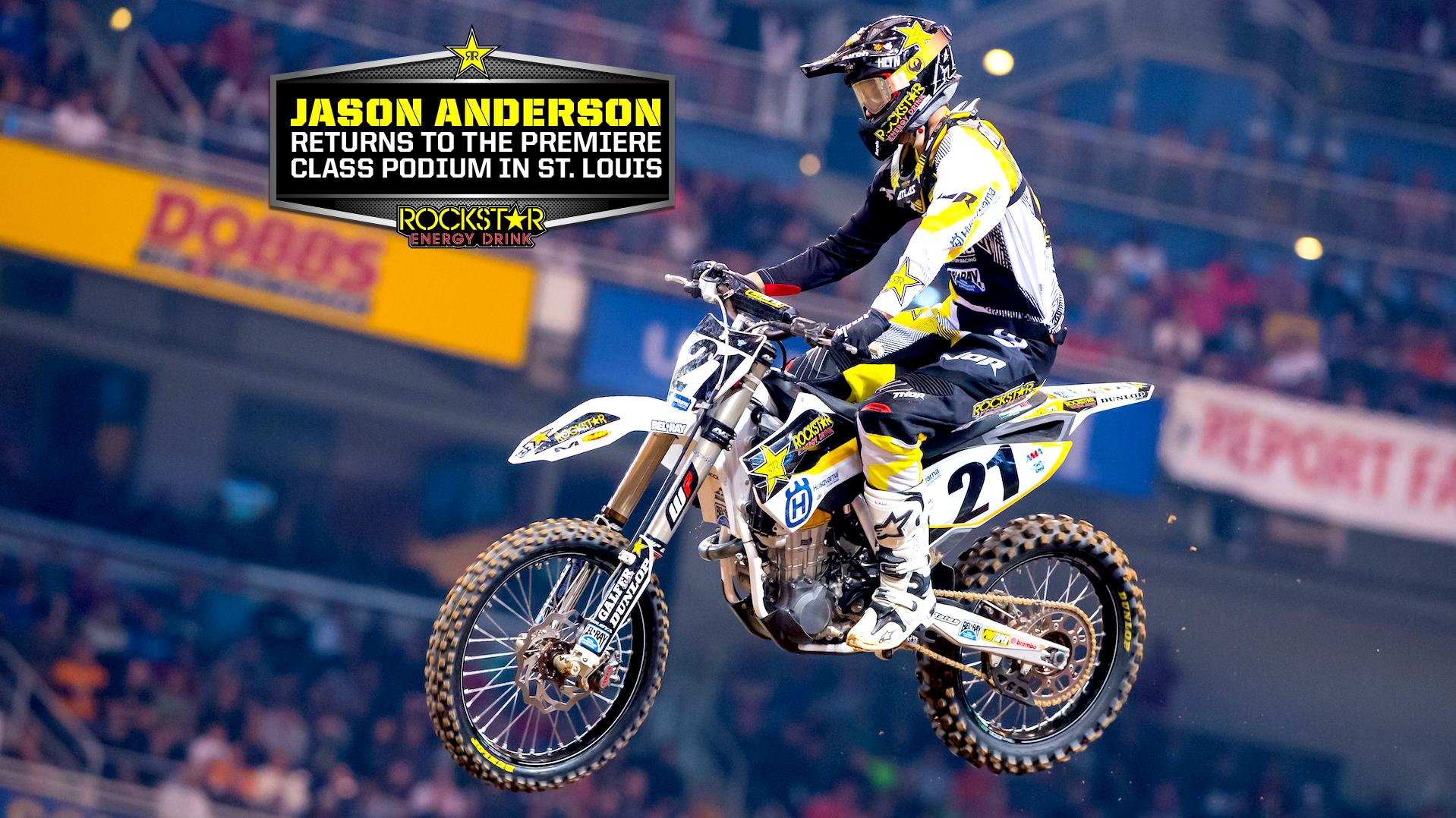 Anderson Puts in Stellar Ride in St. Louis
