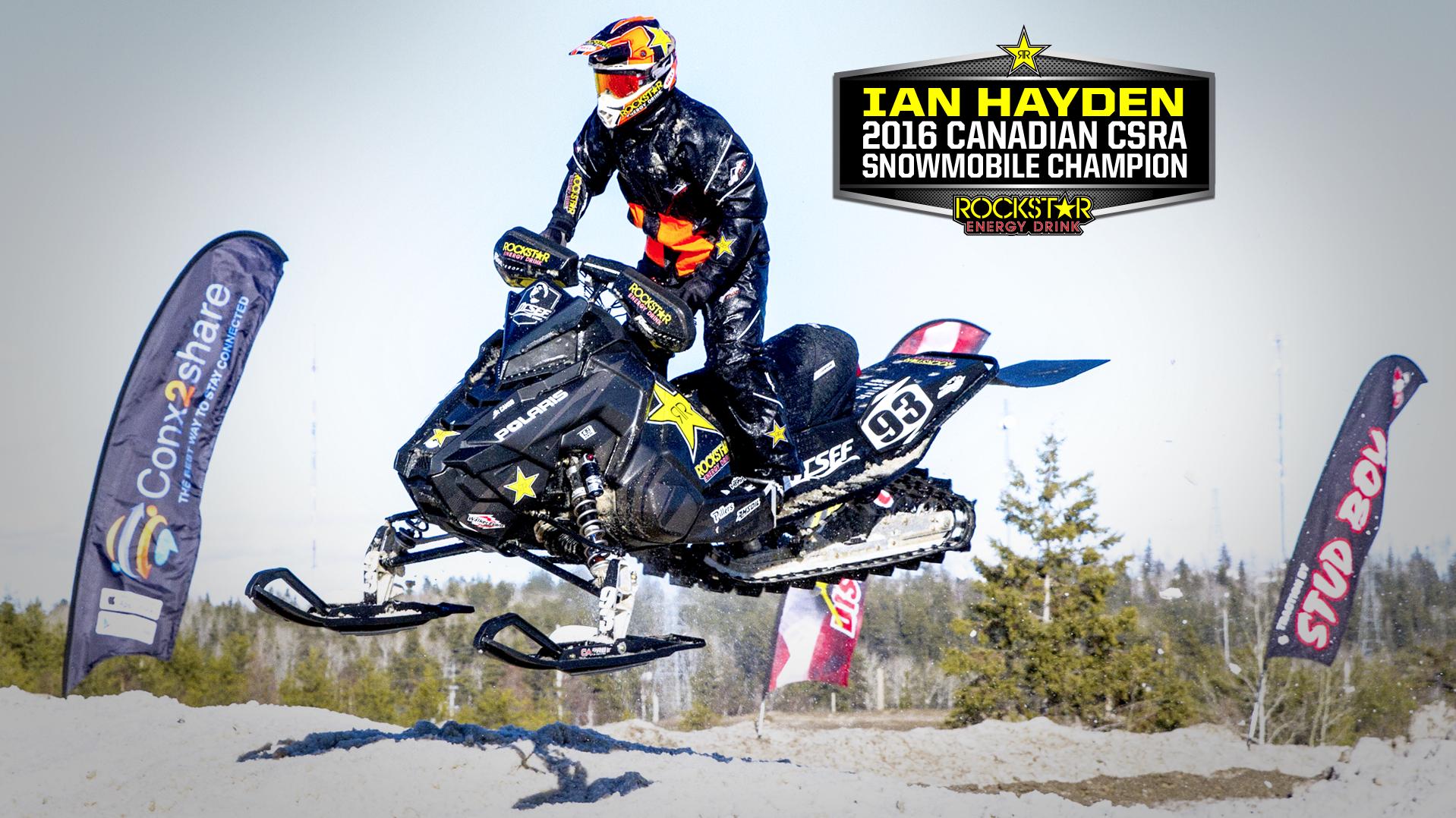 Congratulations Ian Hayden