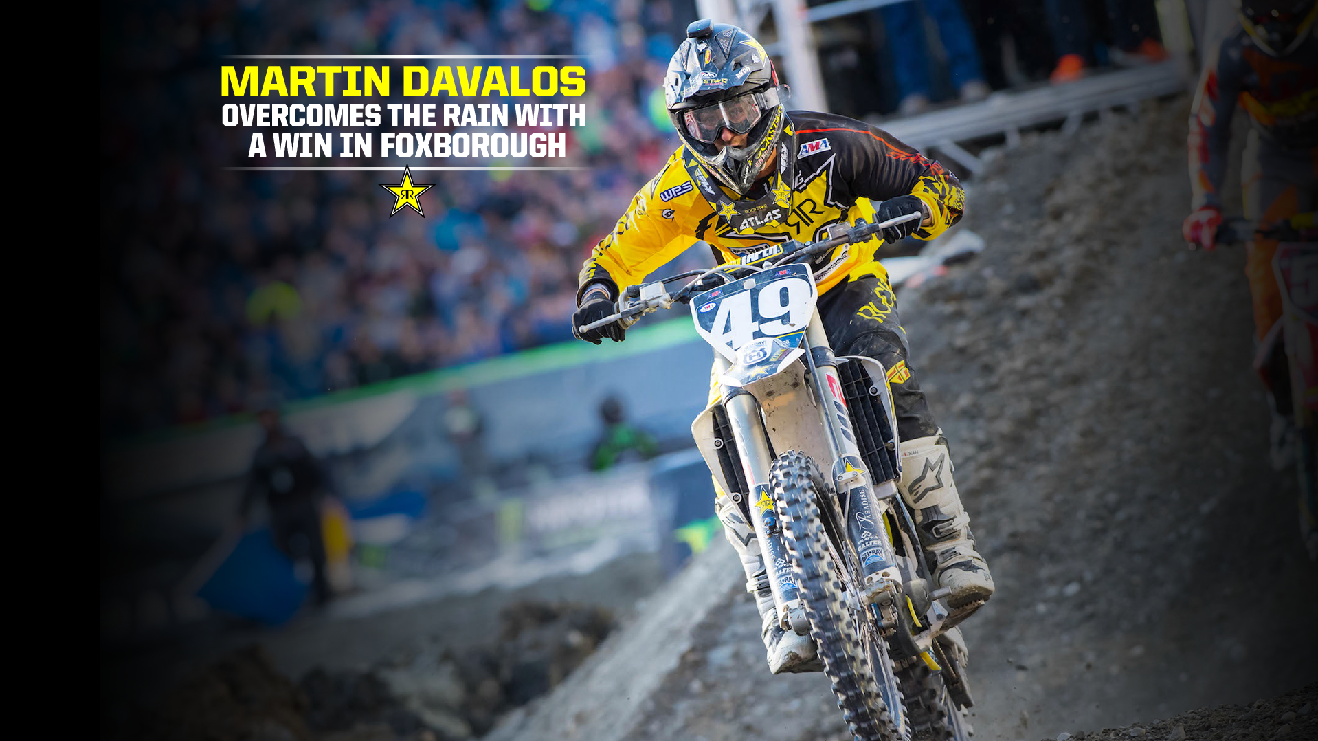 Martin Davalos Overcomes the Rain with a Win in Foxborough