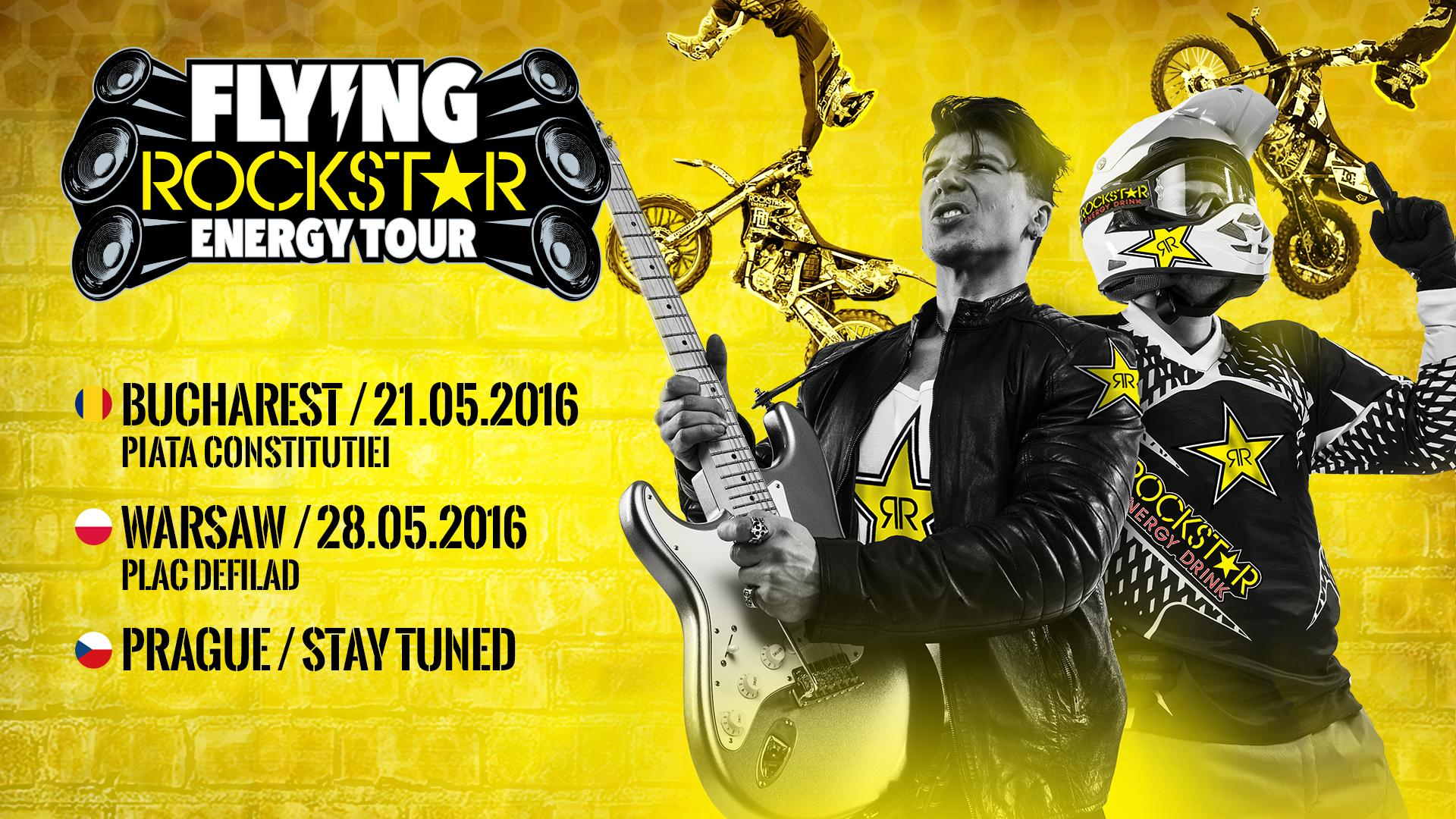 Flying Rockstar Energy Tour 2016 - Romania