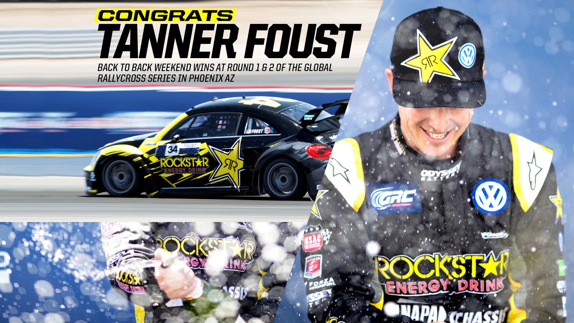Tanner Foust Wins