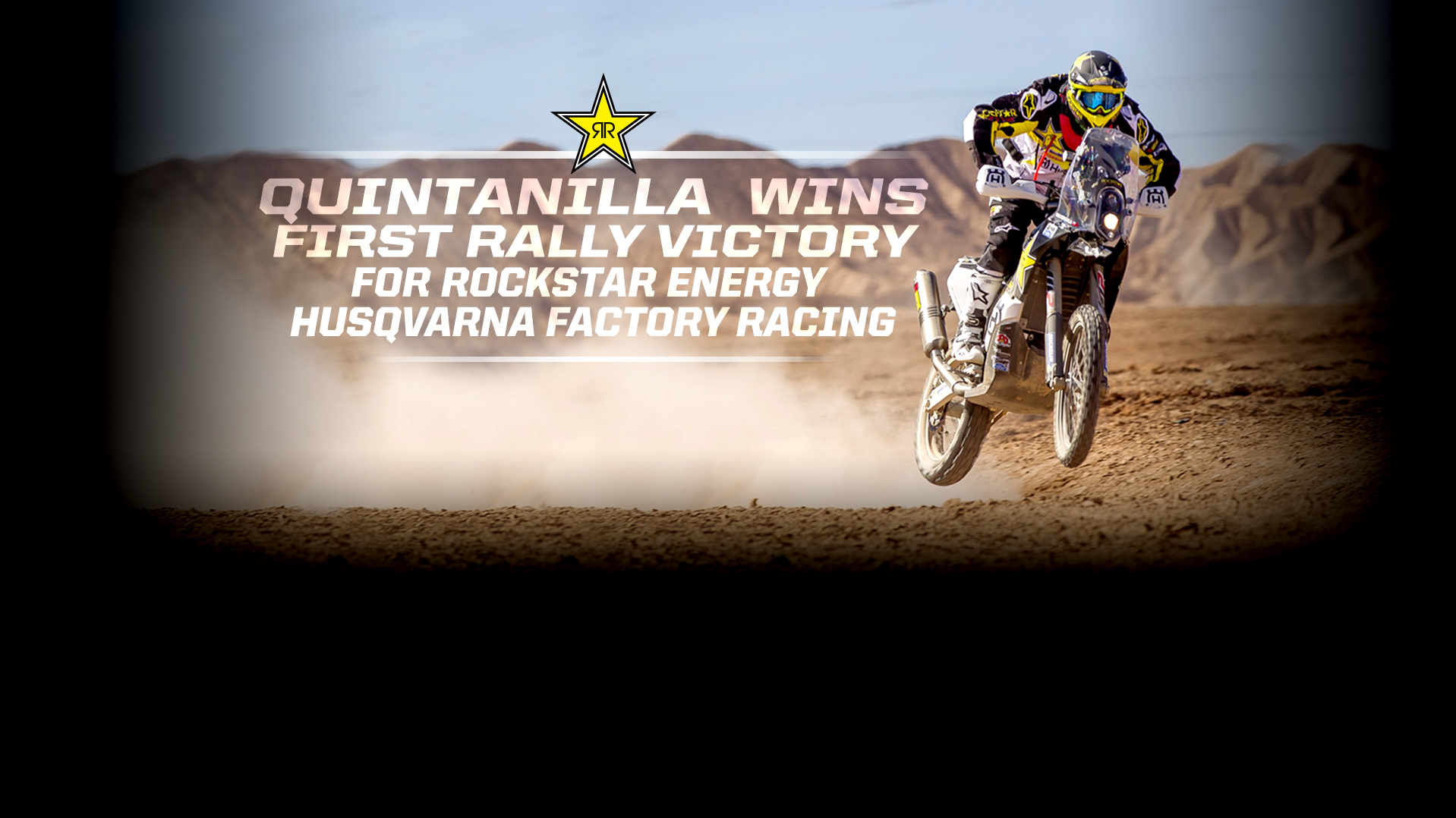 Quintanilla wins first rally victory