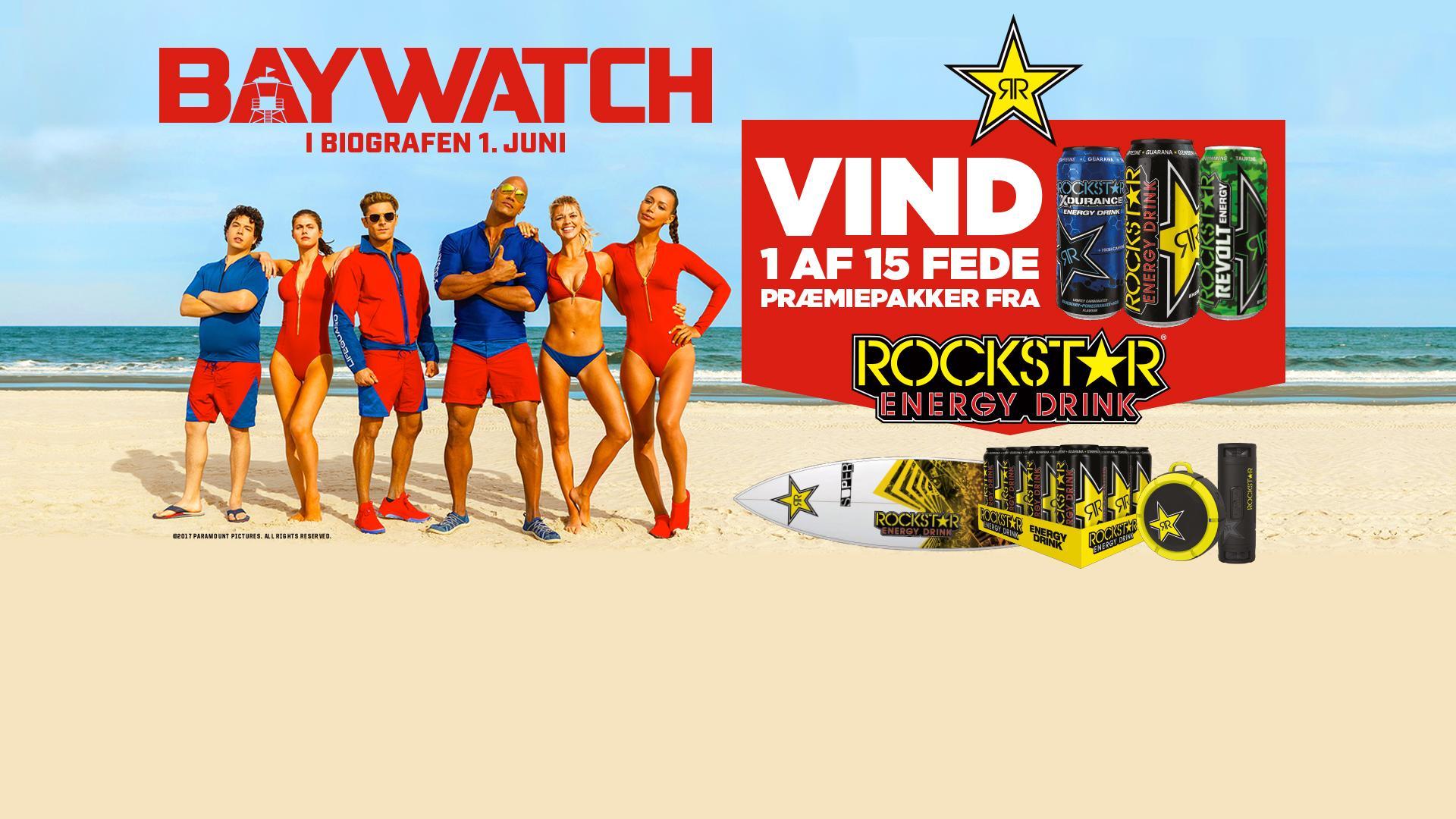 Rockstar Baywatch Movie Competition