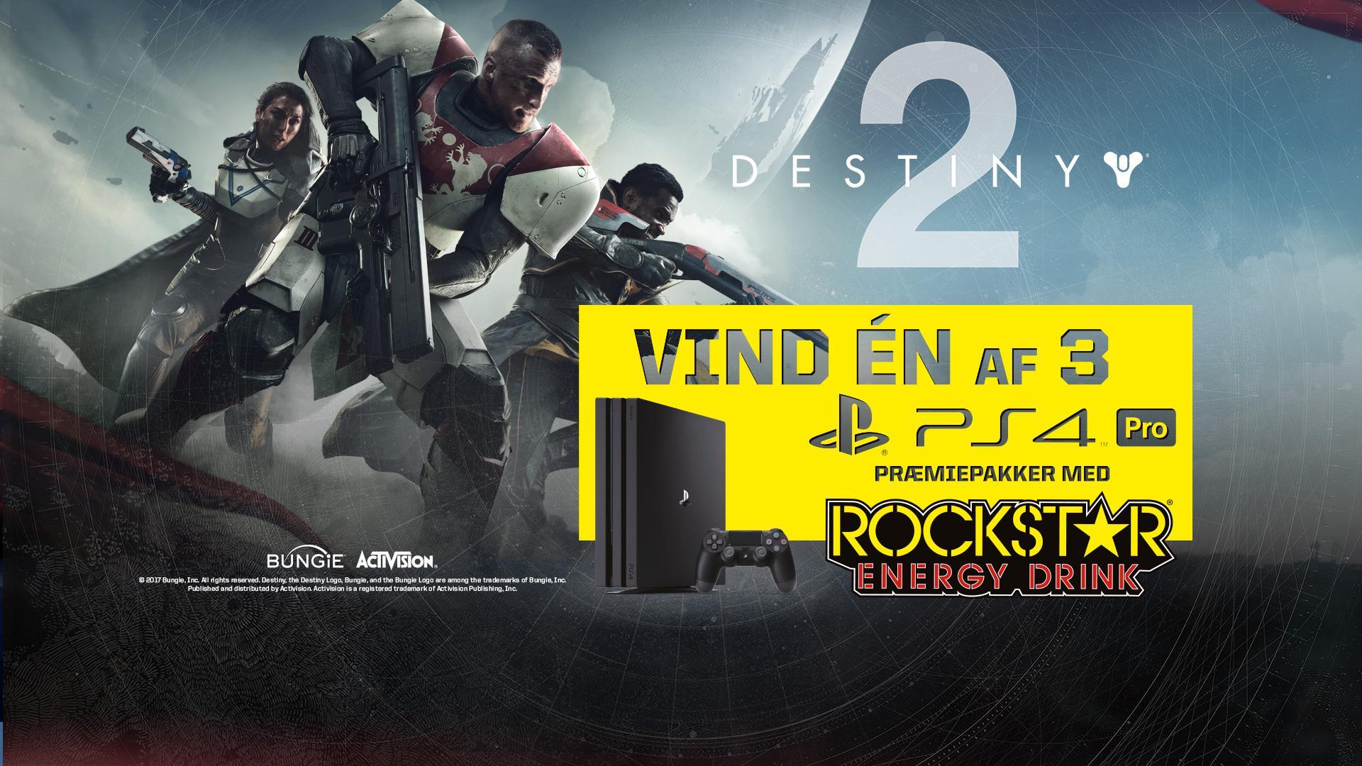 VIND ÉN AF 3 PLAYSTATION 4 PROS