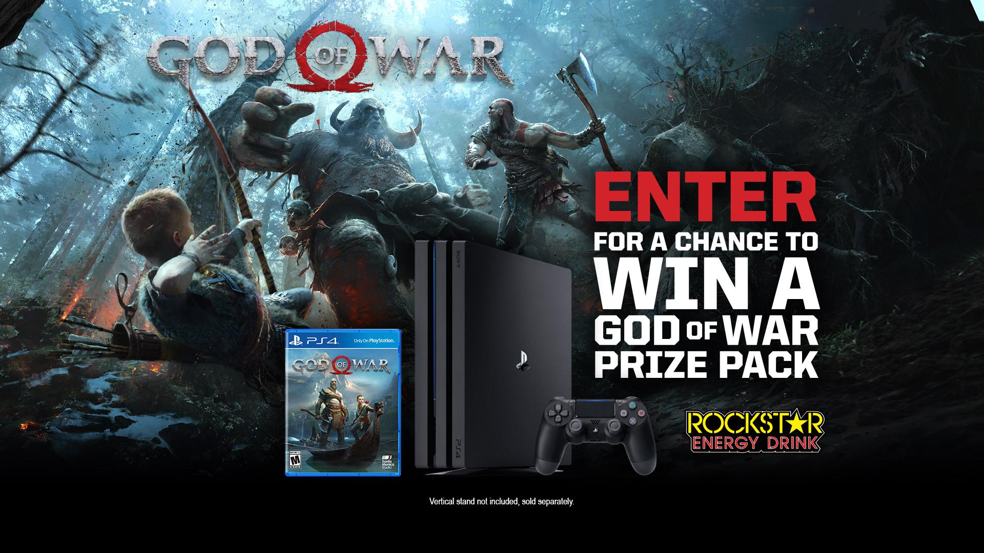 God Of War Prize Pack Sweepstakes