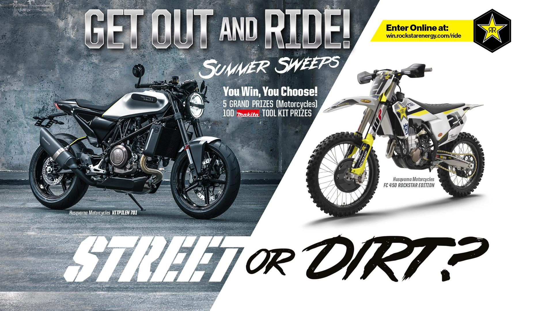 Get Out And Ride Sweepstakes