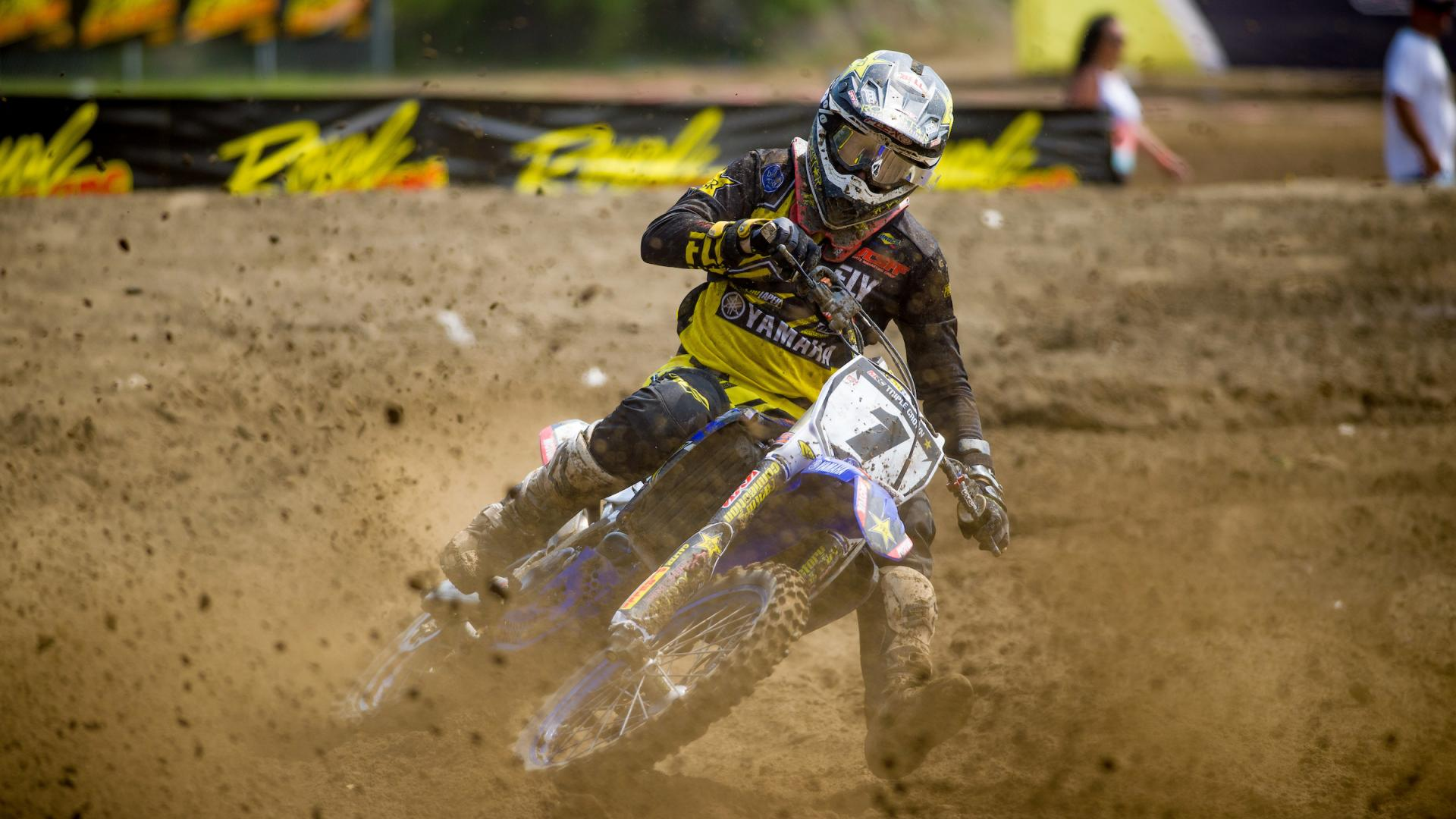 An up and down weekend for Rockstar Energy OTSFF Yamaha in Deschambault