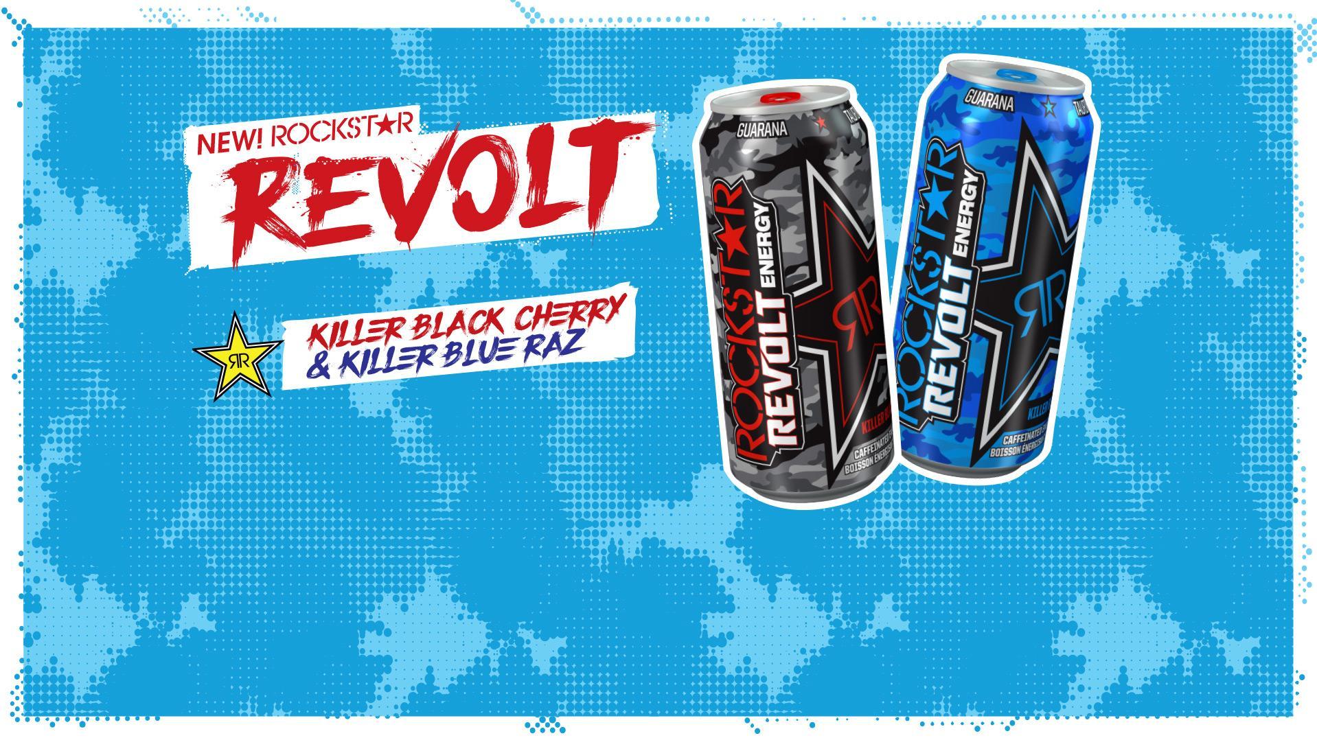 NEW Rockstar Revolt Flavors!