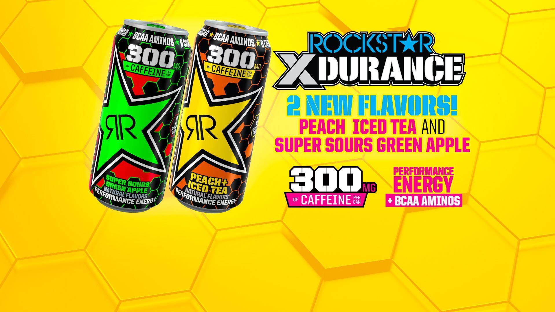 2X NEW Rockstar XDurance Flavors!