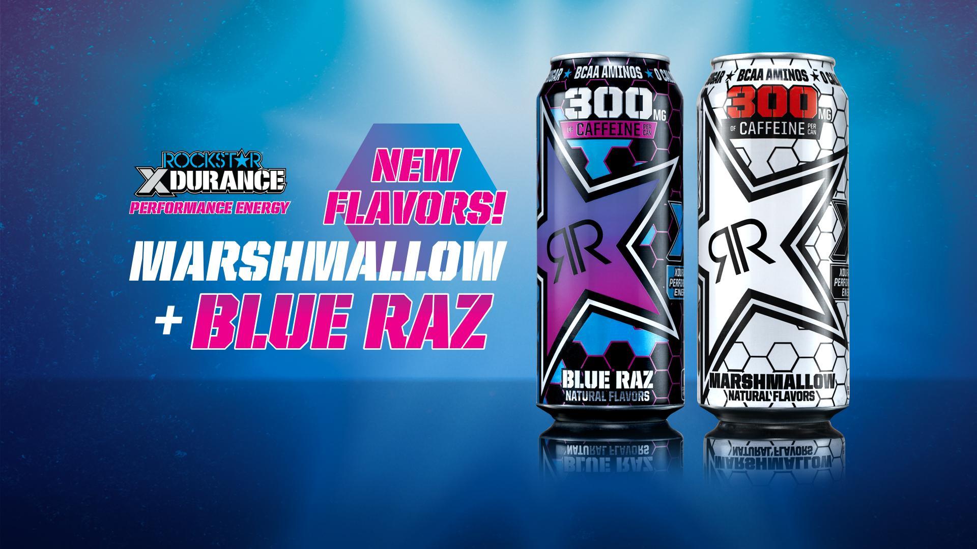 XDurance Marshmallow and Blue Raz