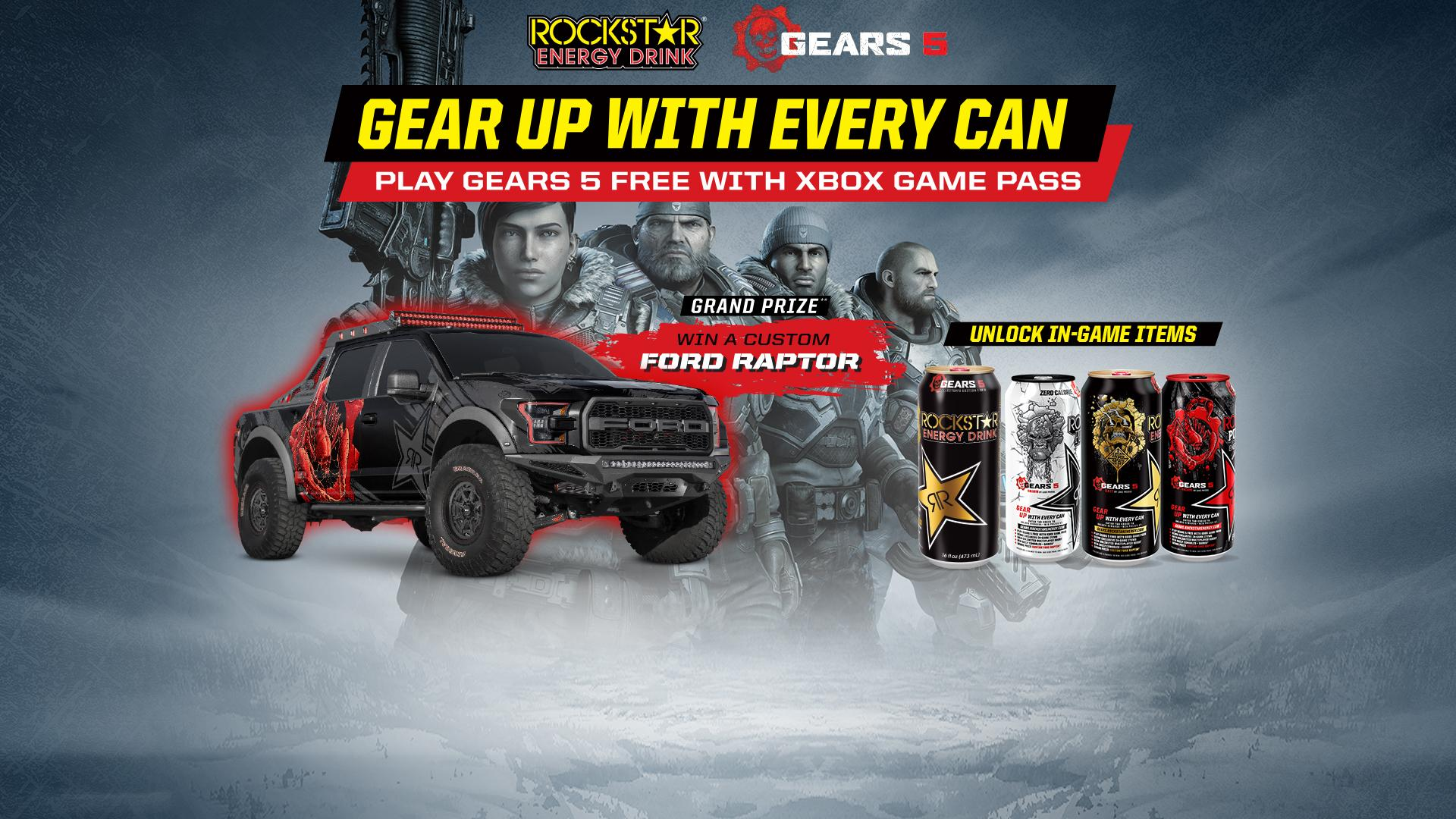 Gear Up With Every Can - Gears 5
