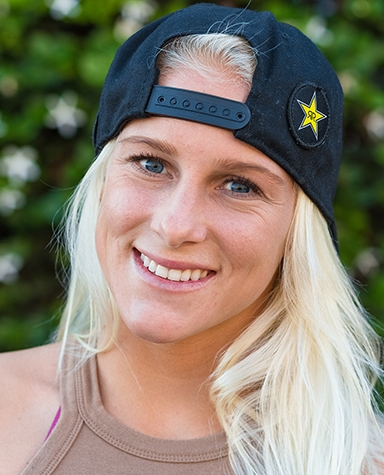 Tatiana Weston Webb Surf Rockstar Energy Drink
