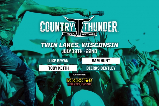 Country Thunder: Wisconsin | July 19-22