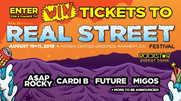 ROCKSTAR & CAR ENTERPRISES REAL STREET FESTIVAL SWEEPSTAKES