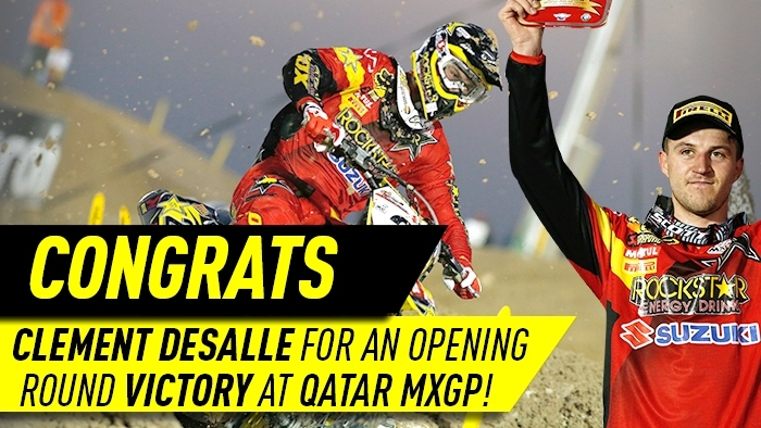 Clement Desalle wins GP of Qatar
